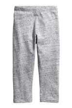 3/4-length leggings - Grey marl -  | H&M 2