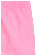3/4-length leggings - Neon pink -  | H&M CN 2