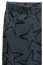3/4-length leggings - Dark grey/Stars -  | H&M 3