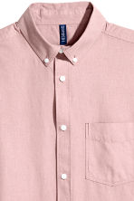 Chemise Regular fit - Rose ancien - HOMME | H&M BE 3