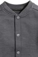Sweatshirt cardigan - Dark grey - Kids | H&M CA 2