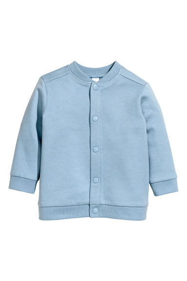 Sweatshirt cardigan - Blue - Kids | H&M 1