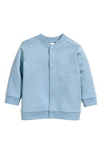 Sweatshirt cardigan - Blue - Kids | H&M CN 1