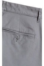 Chinos Skinny fit - Dark grey - Men | H&M CN 3