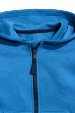 Hooded jacket - Blue - Kids | H&M CN 3
