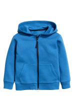 Hooded jacket - Blue - Kids | H&M 2