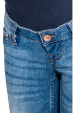 MAMA Shaping Skinny Jeans - Denim blue/Washed -  | H&M 3