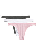 3-pack string briefs - Pink - Ladies | H&M CN 2