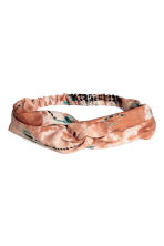 Patterned hairband - Rust -  | H&M CN 1