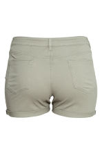H&M+ Twill shorts - Light khaki green - Ladies | H&M 2