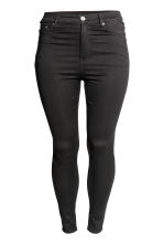 H&M+ Skinny High Jeans - Denim nero - DONNA | H&M IT 3