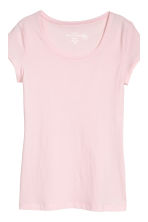 2-pack tops - Light pink/Dark grey - Ladies | H&M CN 4