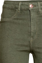 Super Skinny High Jeans - Khaki green - Ladies | H&M CN 4