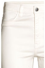 Super Skinny High Jeans - Blanc -  | H&M BE 4