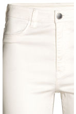 Super Skinny High Jeans - Blanc -  | H&M BE 5