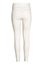 Super Skinny High Jeans - Blanc -  | H&M BE 3