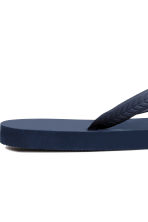 Flip-flops - Dark blue - Men | H&M 4