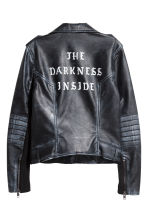 Biker jacket - Black - Ladies | H&M CN 3