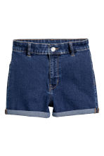 Shorts High waist - Dark denim blue - Ladies | H&M 2