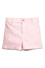Short - High waist - Lichtroze - DAMES | H&M BE 2