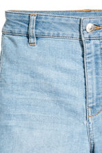 Shorts High waist - Denim blue - Ladies | H&M CN 3