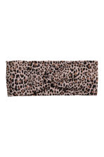Patterned hairband - Leopard print - Ladies | H&M CN 1