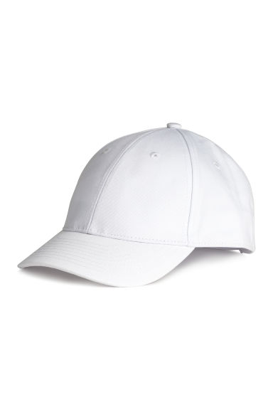 Cotton cap - White - Men | H&M 1