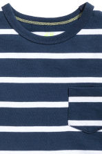 2-pack T-shirts - Dark blue/Striped -  | H&M CN 4