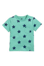 2-pack T-shirts - Dark turquoise/Stars - Kids | H&M 3