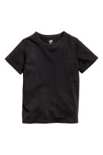 2-pack T-shirts - Black/White/Striped - Kids | H&M CA 3