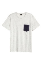 T-shirt - Grey marl - Men | H&M CN 2