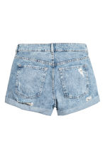 Denim shorts - Light denim blue - Ladies | H&M 3