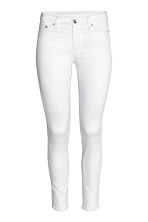 Shaping Skinny Ankle Jeans - White denim - Ladies | H&M CN 2