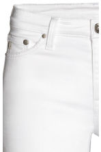 Shaping Skinny Ankle Jeans - White denim - Ladies | H&M CN 4