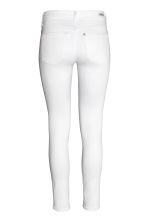 Shaping Skinny Ankle Jeans - White denim - Ladies | H&M CN 3