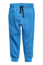 Sweatpants - Bright blue -  | H&M 2