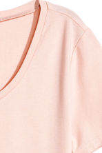 T-shirt in jersey - Rosa cipria - DONNA | H&M IT 3