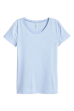 Jersey top - Light blue - Ladies | H&M 2