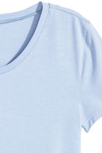 Jersey top - Light blue - Ladies | H&M 3