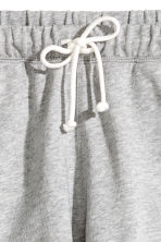 Sweatshirt shorts - Grey marl - Ladies | H&M 4