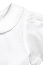 Short-sleeved bodysuit - White - Kids | H&M 2
