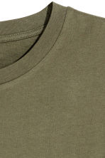 Long T-shirt - Khaki green - Men | H&M 3