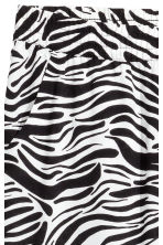 Pull-on trousers - Zebra print - Ladies | H&M 3