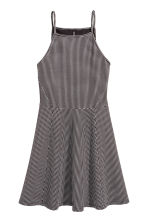 Textured jersey dress - Black/Spotted - Ladies | H&M 2
