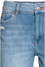 Boyfriend Low Trashed Jeans  - Light denim blue - Ladies | H&M CN 4