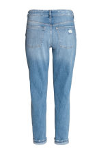 Boyfriend Slim Low Jeans - 浅牛仔蓝 - 女士 | H&M CN 3
