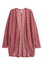 Cardigan in pizzo - Rosa vintage - DONNA | H&M IT 2