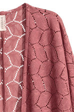 Cardigan in pizzo - Rosa vintage - DONNA | H&M IT 3