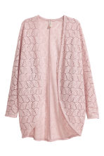 Lace cardigan - Dusky pink - Ladies | H&M CA 2