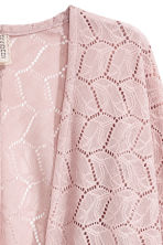 Lace cardigan - Dusky pink - Ladies | H&M CA 4